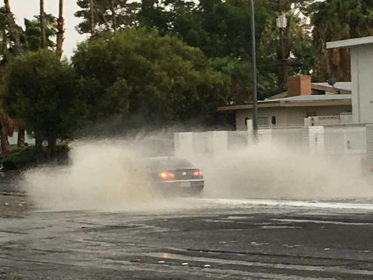 Flash flood warning issued as heavy rain sweeps valley