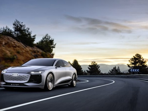 Audi A6 E-Tron concept is an EV that doubles as a gaming console