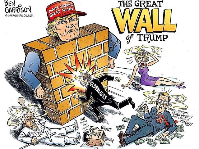 Now that I look back at this Ben Garrison Cartoon I think it's missing someone and that Someone is Robert Mueller armed with a very powerful sledgehammer