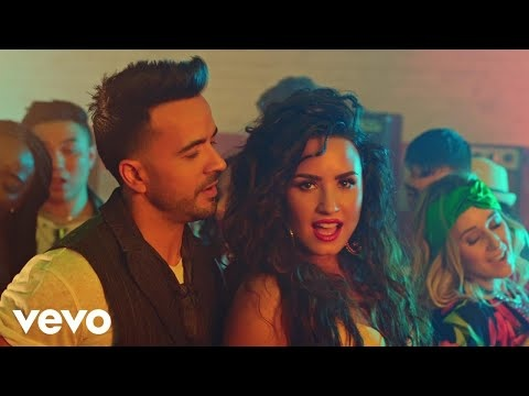 "Demi Lovato & Luis Fonsi Smolder In The ""Échame La Culpa"" Music Video"
