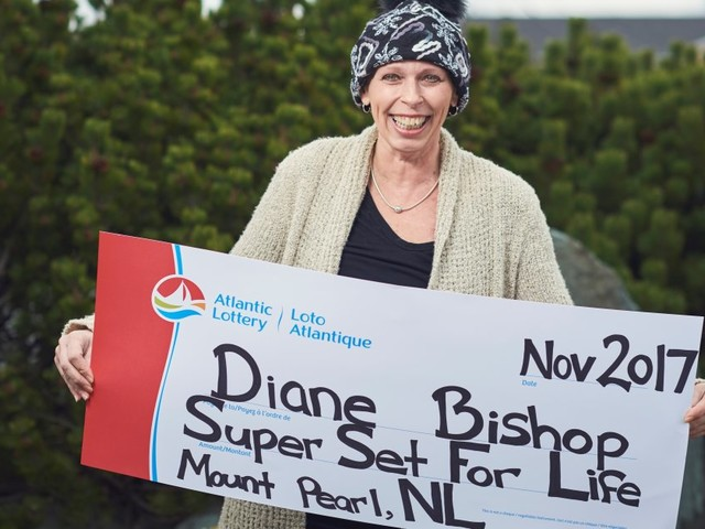 Diane Bishop, Newfoundland Mom Fighting Cancer, Wins $1.5M Lottery