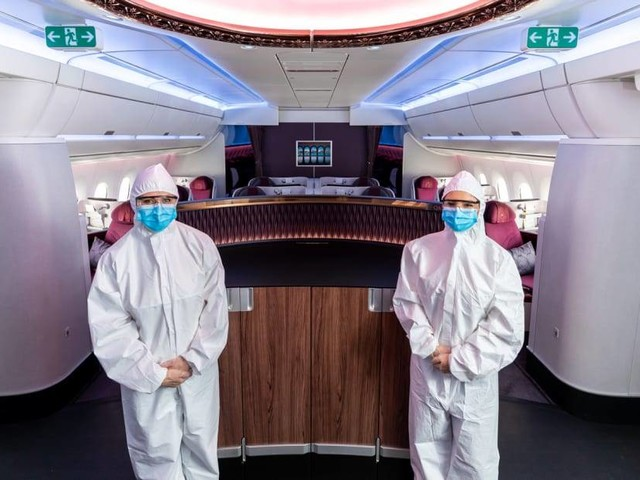 The coronavirus pandemic might make flying safer than ever