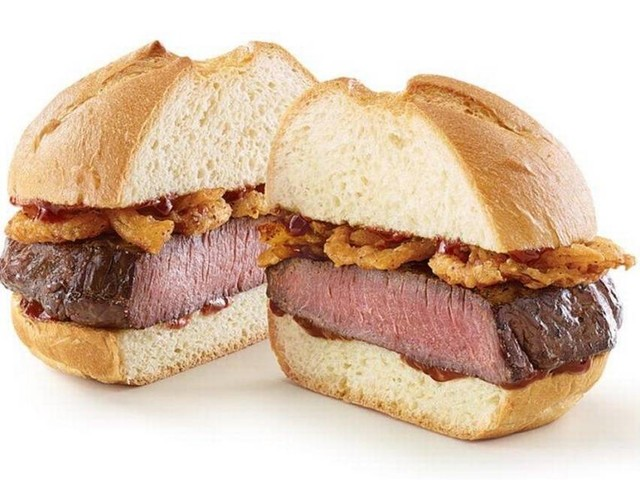 Did you miss out on the deer meat sandwich at Arby's? You can still get a deep-fried turkey sandwich