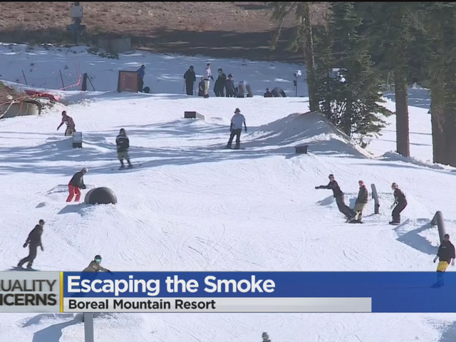 Ski Resorts: 'We're Ready' For People Escaping The Smoke