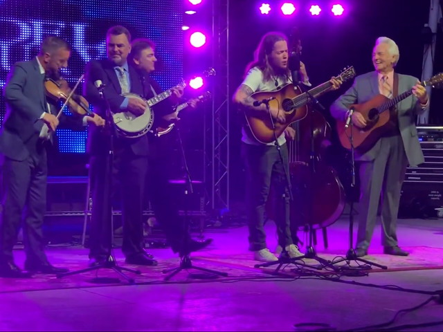 Billy Strings Teams With The Del McCoury Band At Whimmydiddle Festival