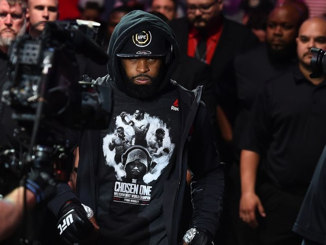 Woodley feels he needs to 'f—k everyone up' in 'corny' WW division
