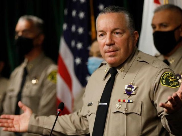 LA County sheriff points out the obvious about new mask mandate, says officers won't enforce it