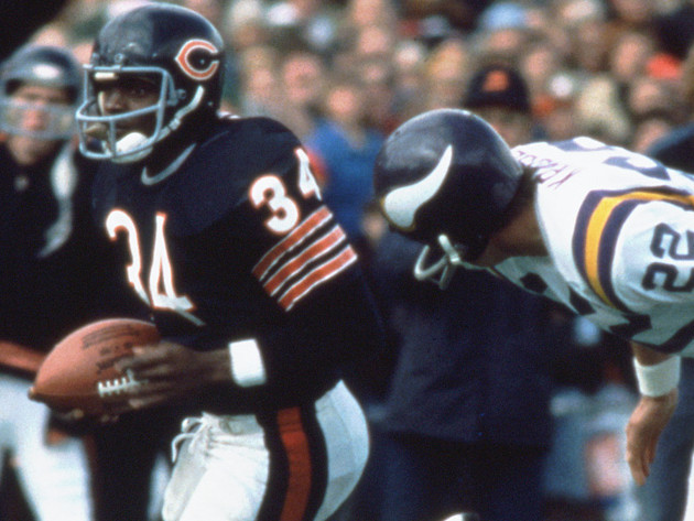 Payton set NFL record 40 years ago Monday