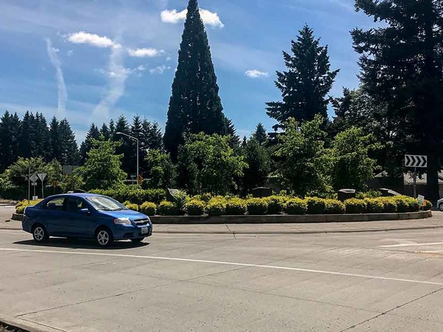 Safety at two-lane roundabouts improves with time