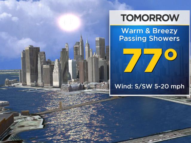 New York Weather: CBS2 5/16 Thursday Forecast