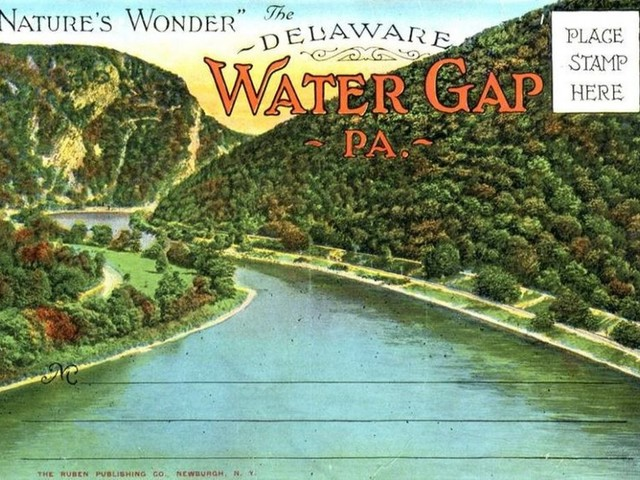 Reminiscing – The Delaware Water Gap