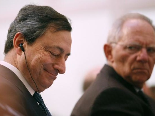 """Mario Draghi Urges """"War-like"""" Flood Of Debt As ECB Considers Launching Helicopter Money"""