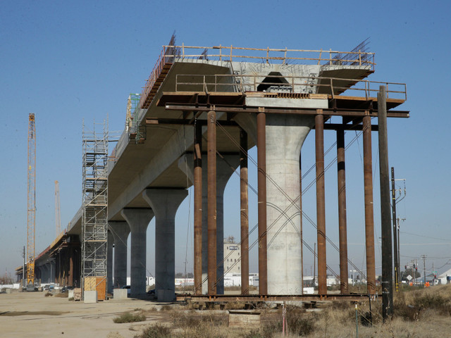 California's bullet train doesn't deserve a cent of federal funding