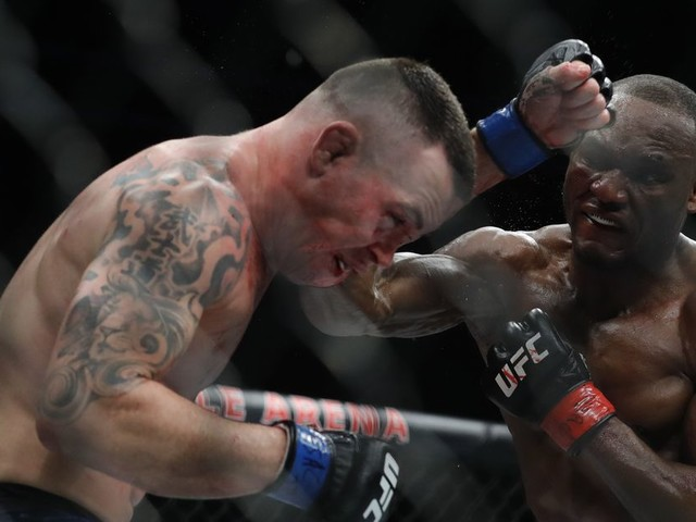 Covington suffered a broken jaw at UFC 245