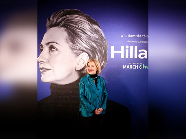 """""""Hillary"""" lands on Sundance and 2020 primary like a hand grenade"""