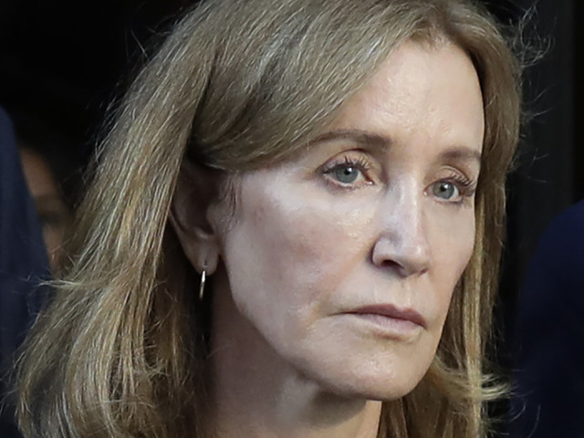 A new image has emerged showing Felicity Huffman in prison