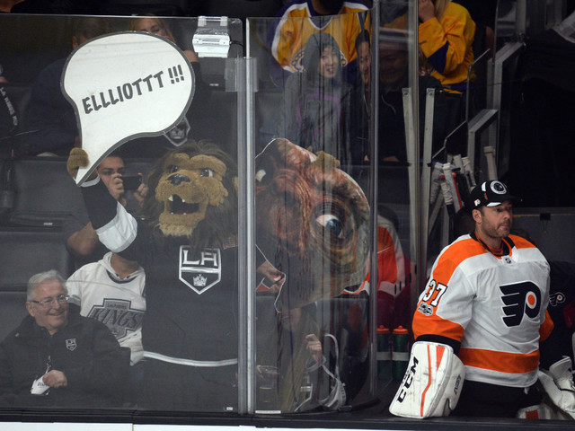 Lawsuit alleges inappropriate behavior by LA Kings' mascot, Bailey