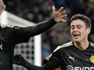 Haaland bids to join Bundesliga's goalscoring elite