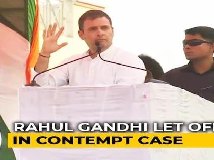 "Rahul Gandhi ""Needs To Be Careful"": Supreme Court Closes Contempt Case"