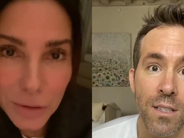 Sandra Bullock & Ryan Reynolds Sing Happy Birthday to Betty White! (Video)