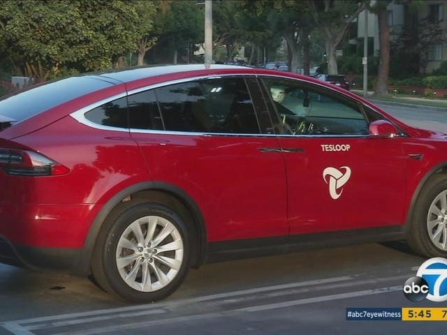 SoCal-based Tesloop offers city-to-city transportation in Teslas