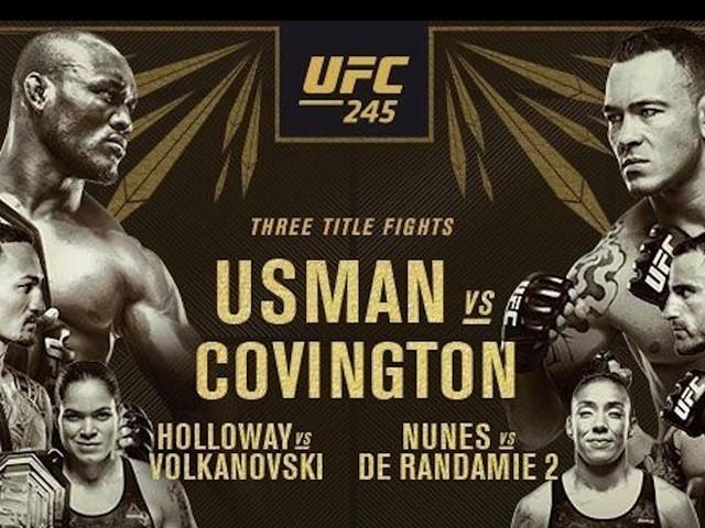 How to watch UFC 245 Usman vs. Covington on iPhone, iPad, Mac, and Apple TV