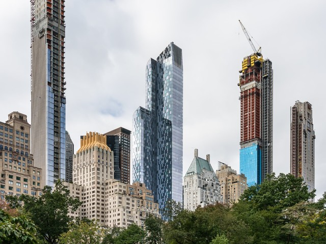 New York is in a race to be carbon neutral by 2050. The city's glossy, glass-encased luxury buildings may be one of the first casualties