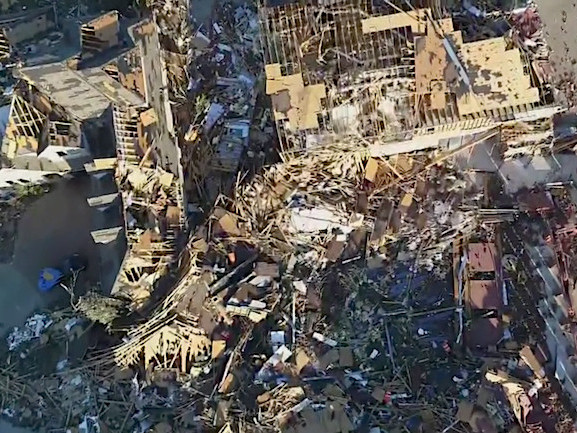 North Texas Couple Moving Into New Home Sees It Destroyed By Tornado