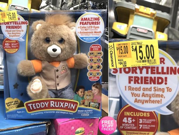 Clearance Find: $15 (Reg $94) Teddy Ruxpin at Walmart