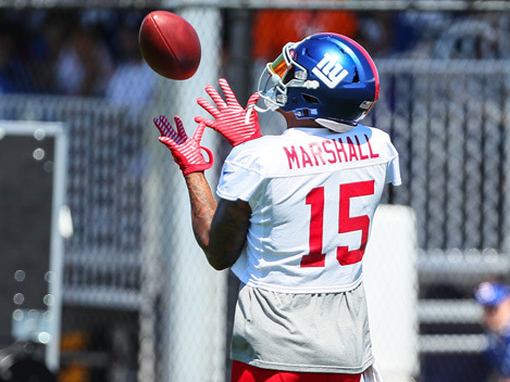 Marshall Has No Problem With Beckham Owning Giants' Spotlight