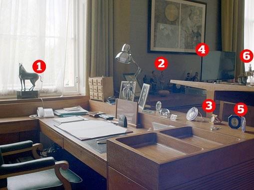 Inside the Duke of Edinburgh's understated office