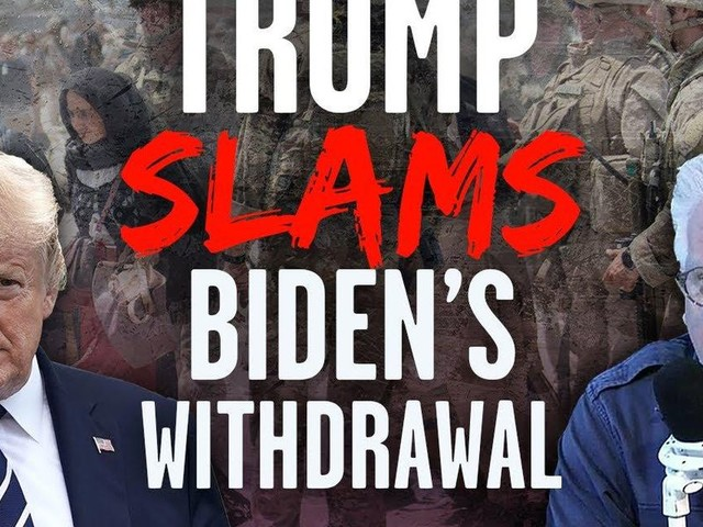 Trump to Glenn Beck: I REJECTED Milley's plan to leave military equipment in Afghanistan, and 'I GUARANTEE that's what happened to Biden'