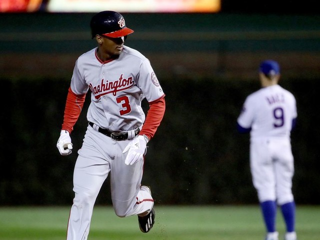 Michael A. Taylor comes to Nationals' rescue again with 3-run homer one game after 8th-inning Grand Slam