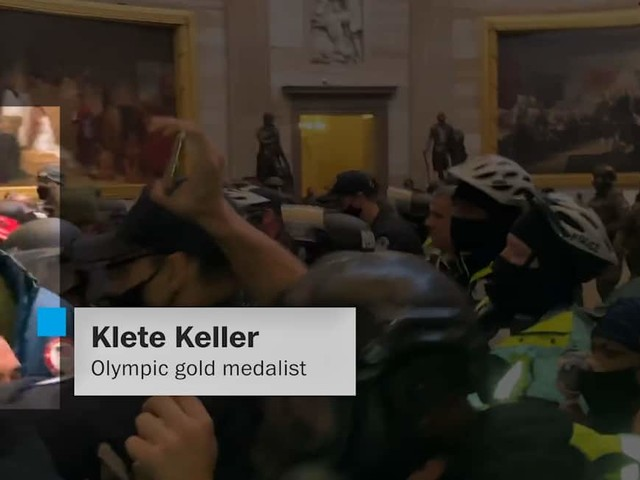 From Olympic medalist to Capitol rioter: The fall of Klete Keller