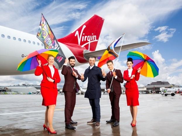 News: Virgin Atlantic to sponsor Manchester Pride Festival