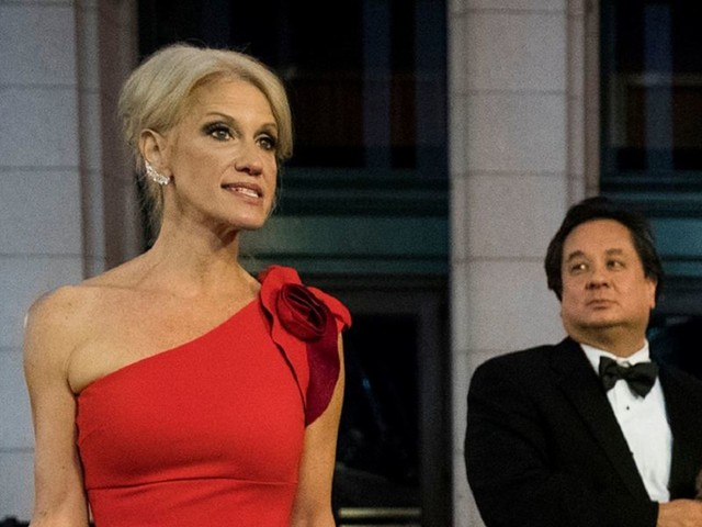 George Conway publicly chides Kellyanne Conway while she defends President Trump — and Twitter freaks out