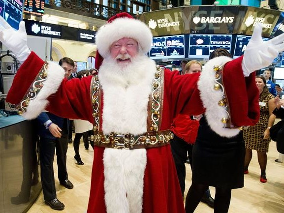 Santa Claus Has Come To Town: Stocks Soar To All Time Highs On Trade And Tories