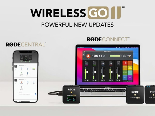 You Can Now Finally Control Rode's Wireless Go II With Your Smartphone