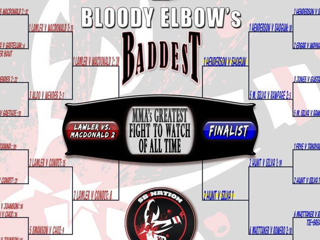 BE's Greatest MMA Fight of All Time Tournament - FINAL FOUR: #1 Henderson vs. Shogun 1 VS. #2 Hunt vs. Bigfoot 1