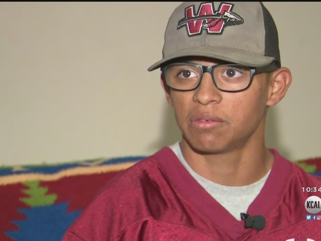 Riverside Teen Was Told He'd Never Walk — But Now He's Walking On Air