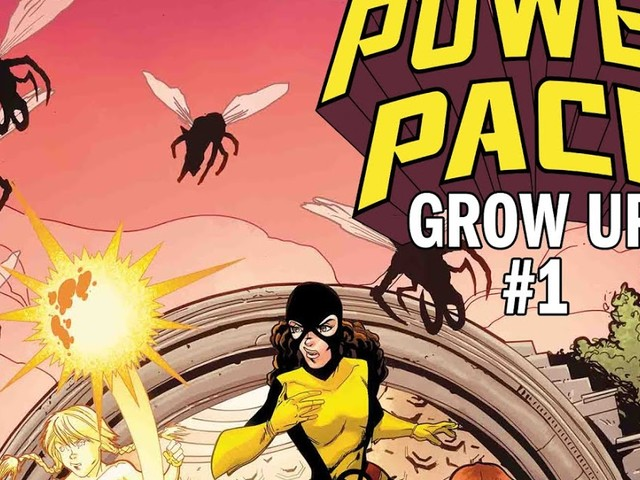 POWER PACK Gets An All-New Adventure with Louise Simonson and June Brigman!
