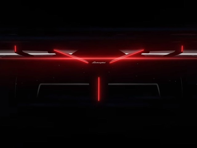New Lamborghini Vision Gran Turismo Concept Teased Before November 24 Launch