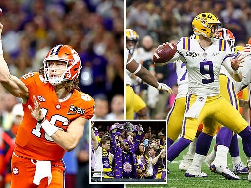Tiger Bowl: Reigning champion Clemson faces top-ranked LSU in college football's national title game