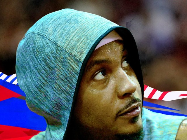 This was always a transition year for the Trail Blazers. Carmelo Anthony won't change that