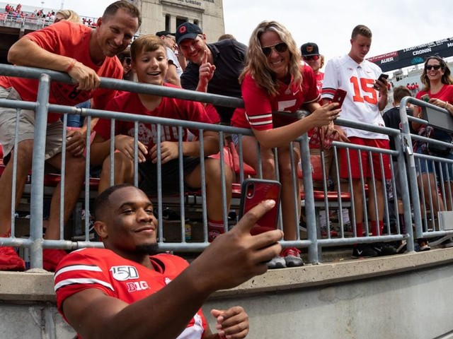 Ohio State football star J.K. Dobbins is a 'miracle baby' whose mother walked out of an abortion clinic at age 18