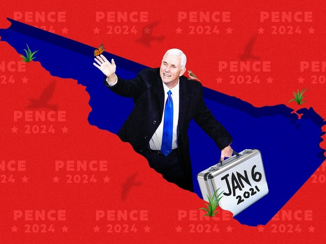 Mike Pence's 2024 campaign unofficially began in New Hampshire, where he schmoozed with power players and got Jan. 6th 'out of the way'