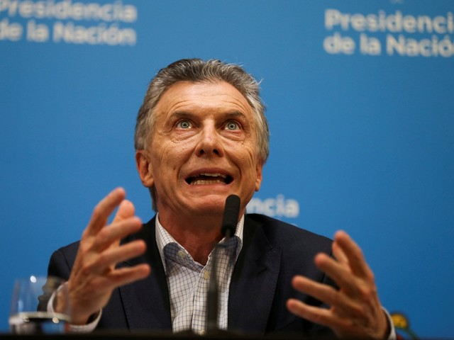 Investors are waiting 'anxiously' to hear from Argentina's next potential president after a surprise election result sent markets crashing