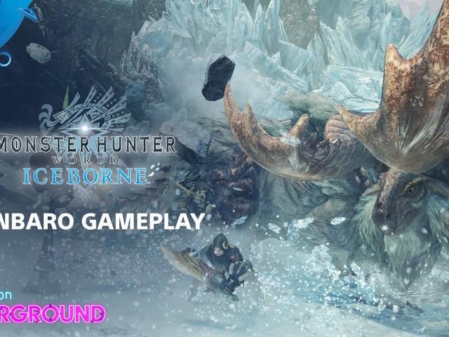PS Underground: We Hunt Banbaro & Tigrex in Monster Hunter World: Iceborne