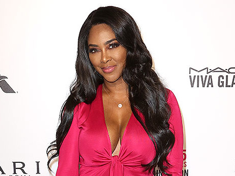 Kenya Moore Cradles Adorable Baby Brooklyn On 1st Mother/Daughter Magazine Cover