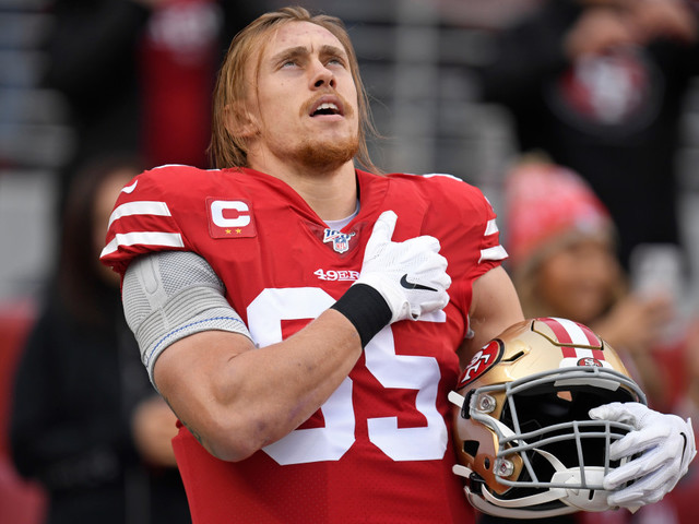 49ers' George Kittle provides Super Bowl tickets to family of Army vet killed in Iraq